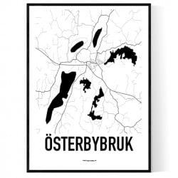 Österbybruk Karta