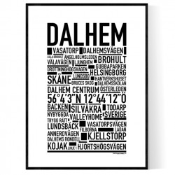 Dalhem Poster