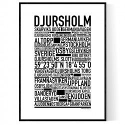 Djursholm Poster