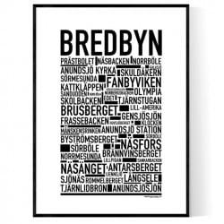 Bredbyn Poster