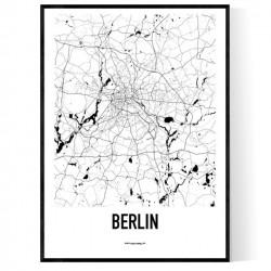 Berlin Metro Karta Poster