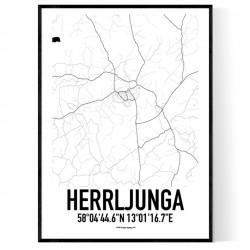 Herrljunga Karta