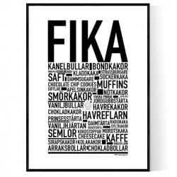 Svensk Fika Poster