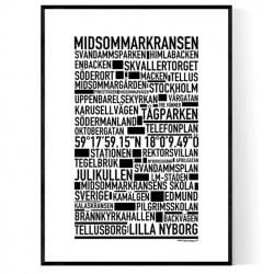 Midsommarkransen Poster