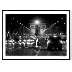 Champs Élysées Poster