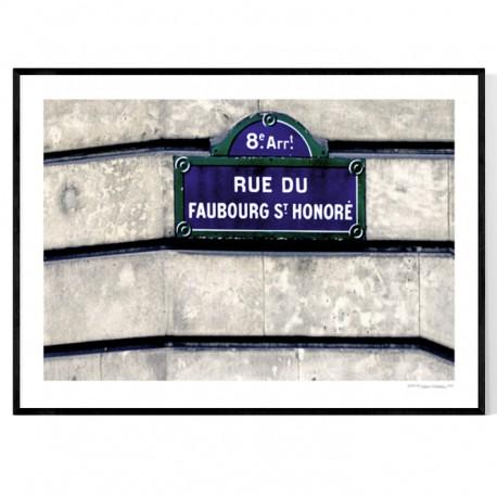 Rue Du Fauborg Paris