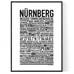 Nürnberg Poster