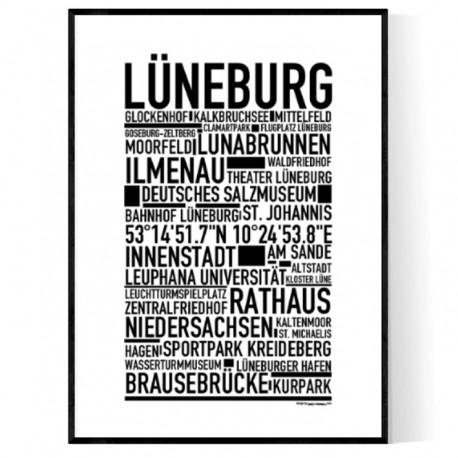 Lüneburg Poster