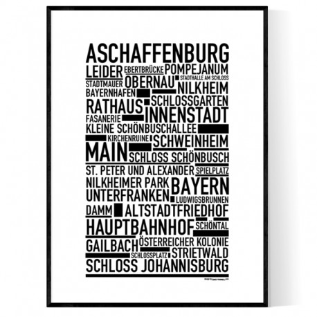 Aschaffenburg Poster