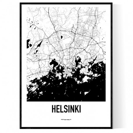 Helsingfors Metro Karta