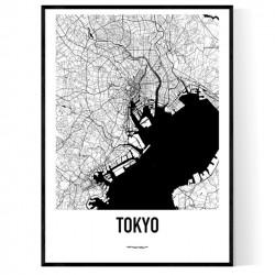 Tokyo Metro Karta Poster
