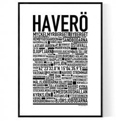 Haverö Poster