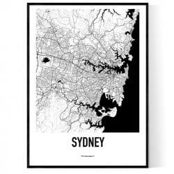 Sydney Metro Karta Poster