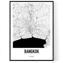 Bangkok Metro Karta Poster