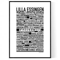 Lilla Essingen Poster