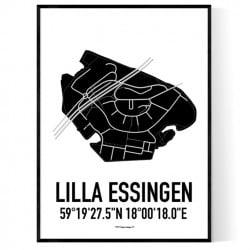 Essingen Karta II Poster