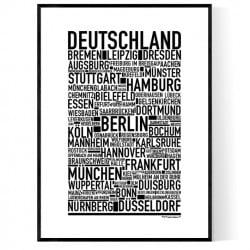 Tyskland Poster