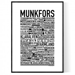 Munkfors Poster