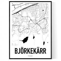 Björkekärr Karta Poster