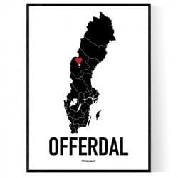 Offerdal Heart Poster