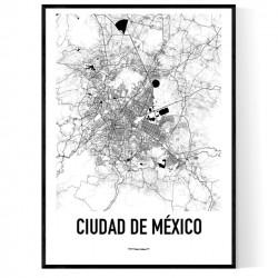 Mexico City Metro Karta