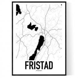 Fristad Karta Poster