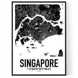 Singapore Karta II Poster