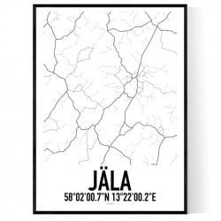 Jäla Karta Poster