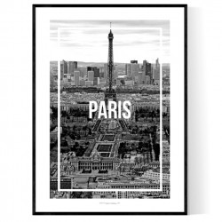 Paris Frame Poster