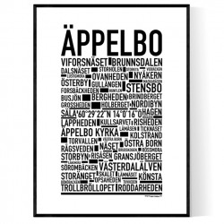 Äppelbo Poster