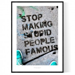 Stupid People Poster
