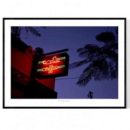 Miami Coffee Poster