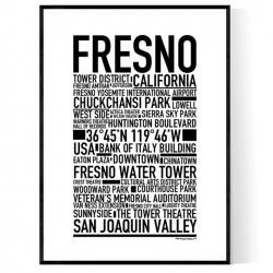 Fresno Poster