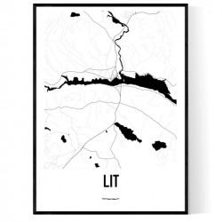 Lit Karta Poster