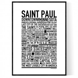 Saint Paul Poster