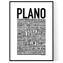 Plano Poster