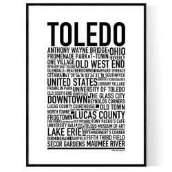Toledo Poster