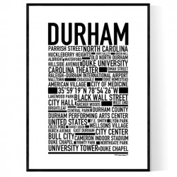 Durham Poster