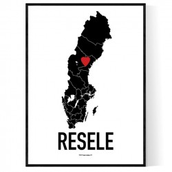 Resele Heart Poster