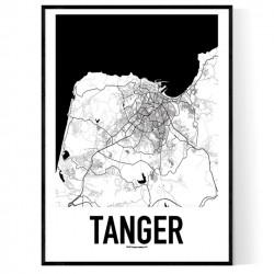 Tanger Metro Karta Poster