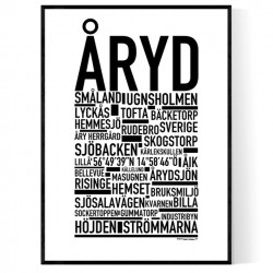 Åryd Poster