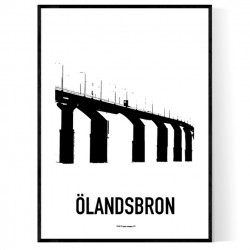 Ölandsbron Draw Poster