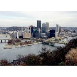 DTP Pittsburgh Skyline