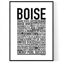 Boise Poster