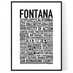 Fontana Poster