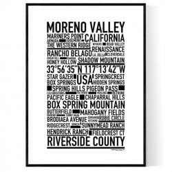 Moreno Valley Poster