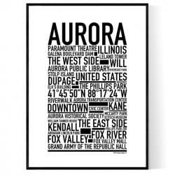 Aurora IL Poster