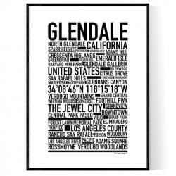 Glendale CA Poster