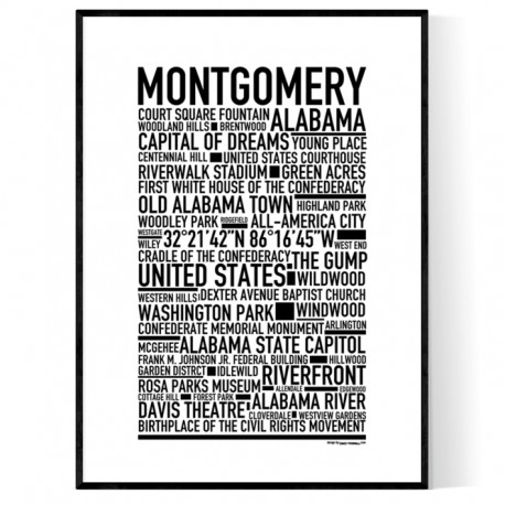 Montgomery AL Poster