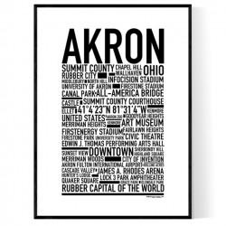 Akron Poster